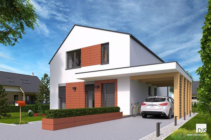 Projekt domu - i2-140 - Pohľad z ulice