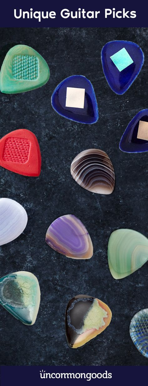Discover unique guitar picks that are anything but ordinary.
