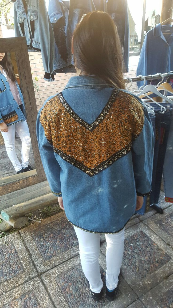 chaquetas jeans. denim jacket. street look