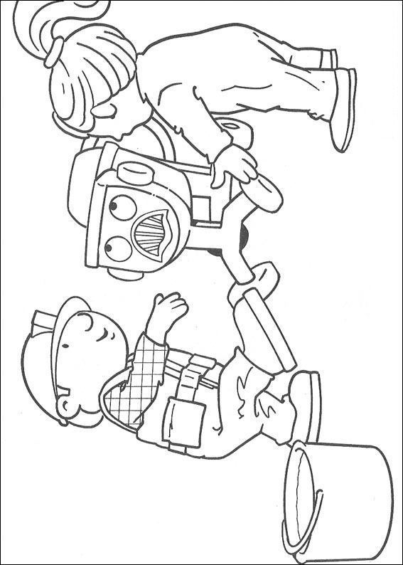 Bob The Builder Coloring Page Source Kids N Fun