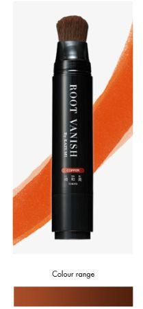 Root Vanish Copper - Döljer genast utväxten i alla typer av hår, även grått, tjockt eller skadat hår. Snyggt och enkelt!