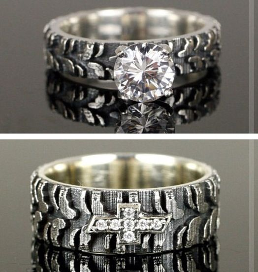 chevy ring - Hunting Wedding Rings
