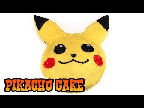 How to Make PIKACHU CAKE- Kids Baking Lesson - YouTube