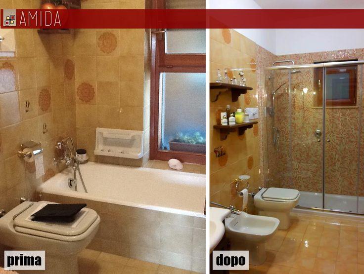 Sostituire la vasca con un comodo box doccia oggi è ancora più facile! Con Amida puoi progettare il tuo nuovo angolo doccia senza modificare il resto del bagno, e il risultato è incredibile! vieni a trovarci e scopri di più