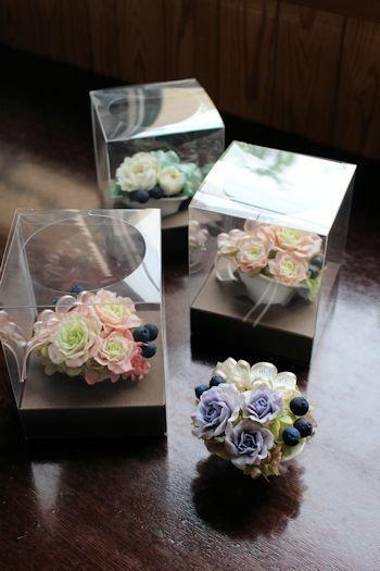 ウェディングギフト せっけんの花|新潟 手作り石鹸の作り方教室 アロマセラピーのやさしい時間