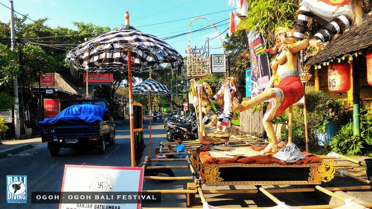 OGOH-OGOH AND NYEPI – #EXORCISM AND #SILENCE. Ogoh-ogoh parade will begin soon today !!! www.balidiving.com