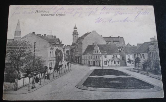 I17 Sulechów. Fragment miasta.