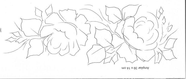 Pintura em Tecido Passo a Passo Com Fotos: Pintura em Tecido Par de rosas