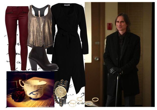 Look inspired by Mr Gold from Once Upon a Time @thegirlbackstage