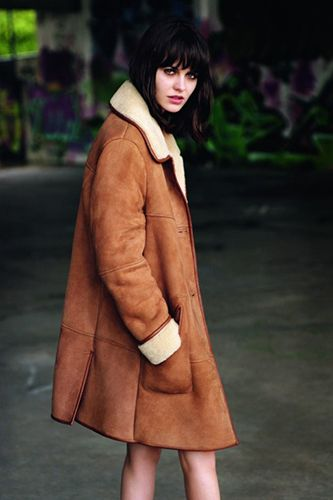1000  images about Shearling Coats on Pinterest | Coats Topshop