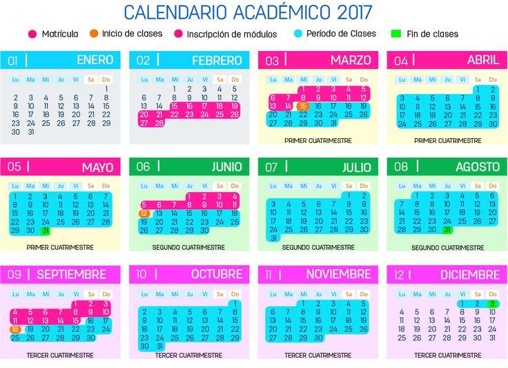 CALENDARIO ACADÉMICO 2017 – UALN