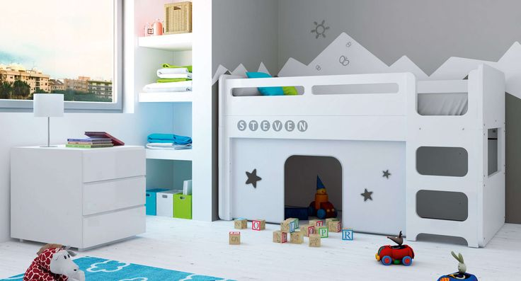 Colecci n up modular alondra cuna convertible en cama for Cama modular infantil