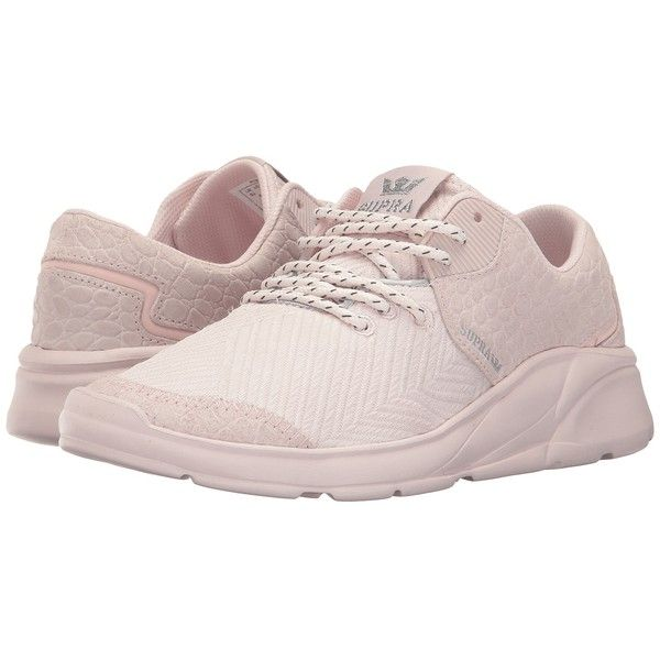 Supra Noiz (Mauve Chalk/Mauve Chalk) Women's Skate Shoes (1,450 MXN) ❤ liked on Polyvore featuring shoes, leather skate shoes, real leather shoes, traction shoes, breathable shoes and supra footwear
