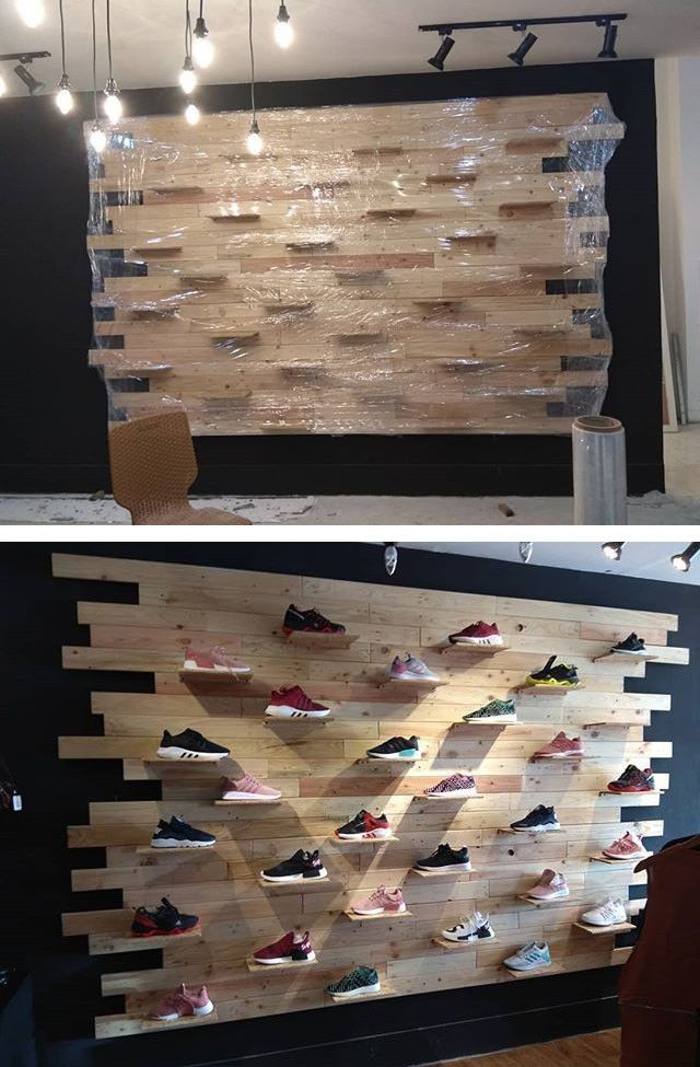 Fabulous 33+ Wood Pallet Wall Projects Ideas - Sensod