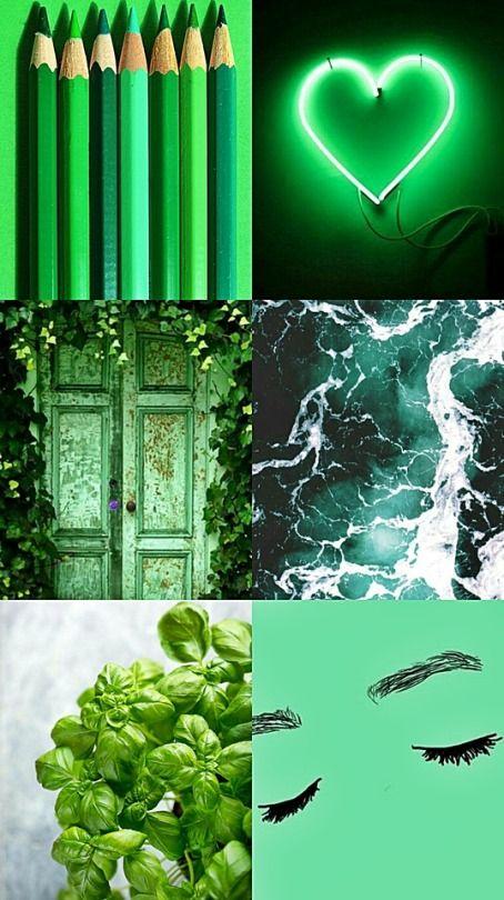 #green #aesthetics