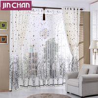 por encargo tree impreso cortinas modernas para sala de estar del dormitorio apagn cortinas cortina cubre