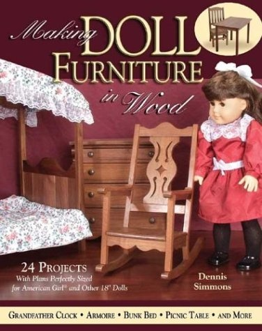 274 best doll house books images on pinterest doll houses making doll furniture in wood 30 projects and plans perfectly sized for american girl and solutioingenieria Image collections