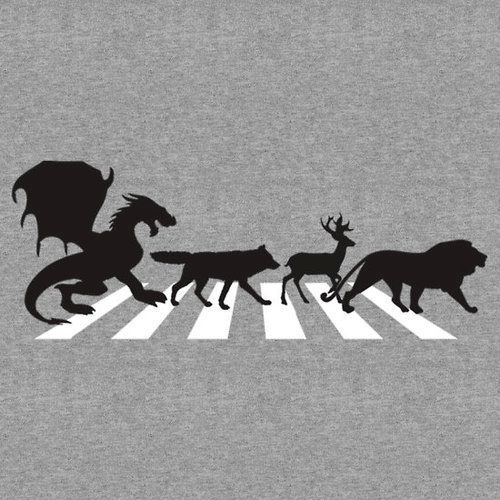 Game of Thrones. Targaryen, Stark, Baratheon, Lannister, Beatles...