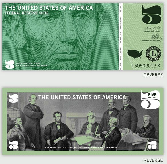 11 Dollar Redesign Ideas - Currency Design Inspiration | New