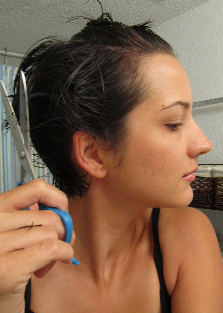how to cut your own hair - short messy layers                                                                                                                                                                                 More