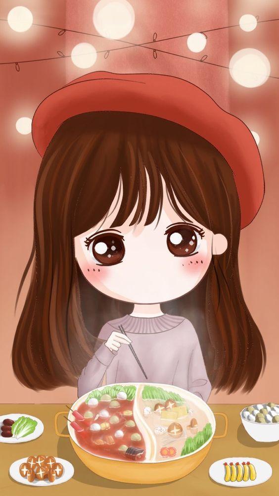 ha nh na n a ia n thoao i avatar a ao p ao nh chibi da thae ae ng cute a ang yaau nhao t kawaii girls pinterest chibi avatar and anime