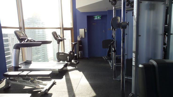 Gym at the Quay West Suites Sydney
