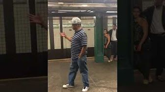 Mike Yung (subway performer) singing Unchained Melody in NYC Subway station…