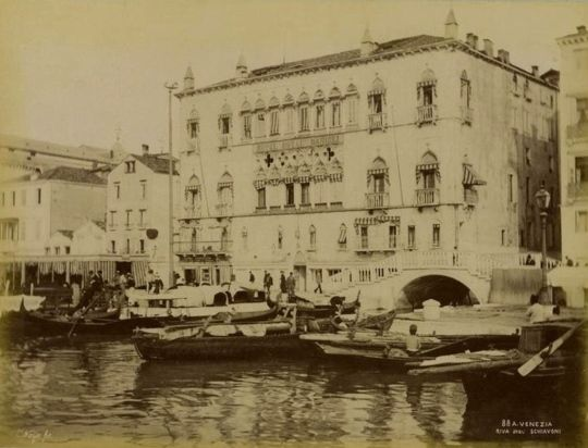 Proust did not sleep here…once the Palazzo Dandolo, now the Hotel Danieli.