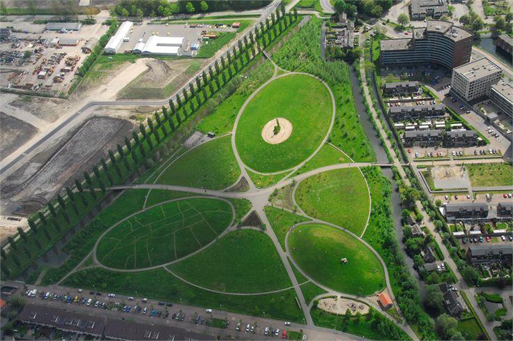 Buro Sant en Co landschapsarchitectuur - Park de Hoge Weide, Leidsche Rijn, Utrecht