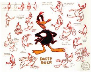 Cartoon Concept Design: Warner Brothers Model Sheets