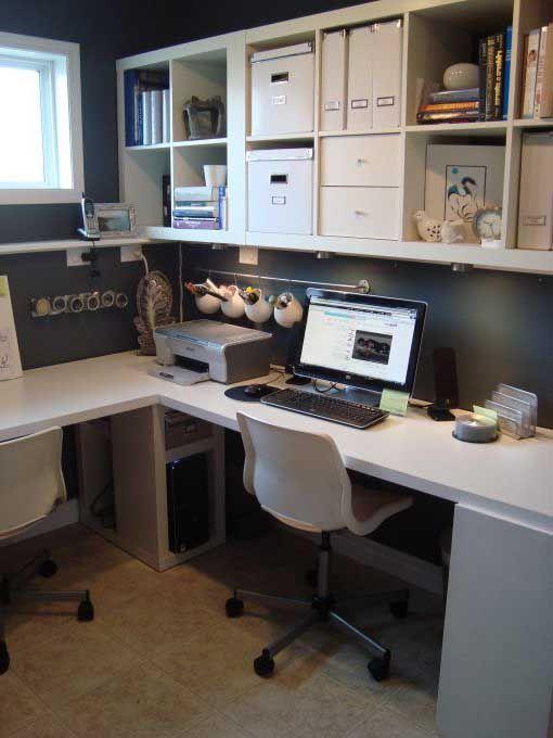 صور مكاتب مودرن صور مكتب صورة مكتب منزلي ديكورات مكاتب مودرن Home Office Space Home Office Design Ikea Small Office