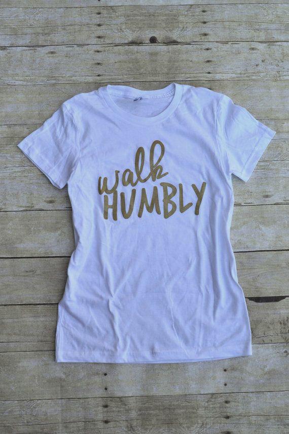 Act Justly Love Mercy Walk Humbly Micah 6:8 by MilkandHoneyTees