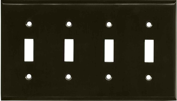 light switch plates satin black nickel outlet covers wallplates