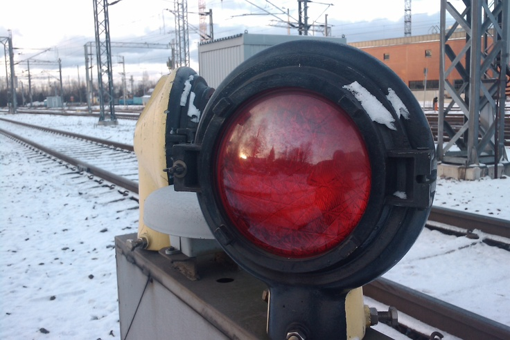Train Signal, Main Railway Station, Turku