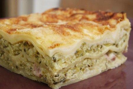 Lasagnes light aux courgettes et chèvre frais