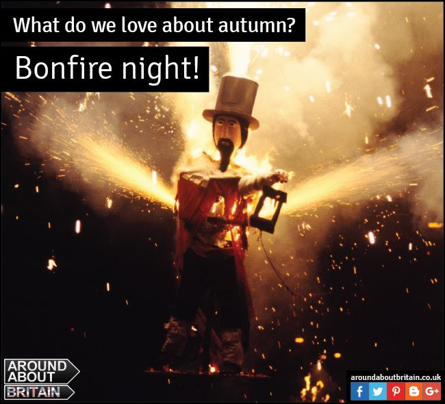 What do we love about Autumn? Bonfire Night! Enjoy sparklers and fireworks with family and friends. Remember Remeber the 5th of November! #Autumn #Fireworks #GuyFawkes #Sparklers #Britain