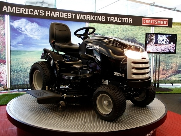 14 best lawn and garden images on pinterest lawn and garden craftsman ctx luxury tractor makes debut at detroit auto show fandeluxe Images