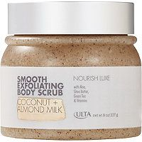 ULTA - Luxe Smooth Exfoliating Body Scrub in Coconut   Almond Milk #ultabeauty