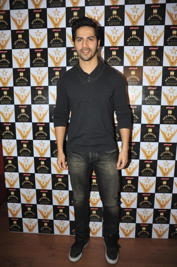 Varun Dhawan at Announcement of Stardust Awards 2013.