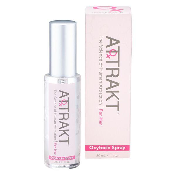 Attrakt Oxytocin & Pheromone Spray for Her on AHAlife