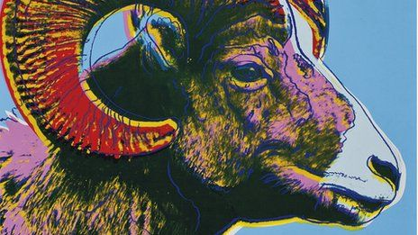 More than 350 works by Andy Warhol have fetched more than $17m at auction in New York.