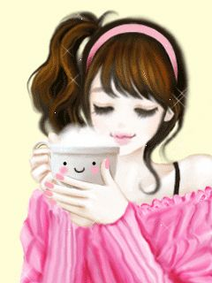 Cute Cartoon Animations of Girls | Cute Girl