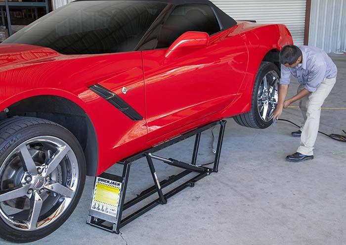 Ranger bl 5000 quickjack portable scissor jack free for Garage ww auto