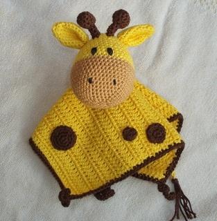 knuffeldoekje giraf