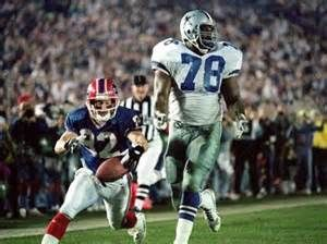 Don Beebe fleeces a showboating Leon Lett