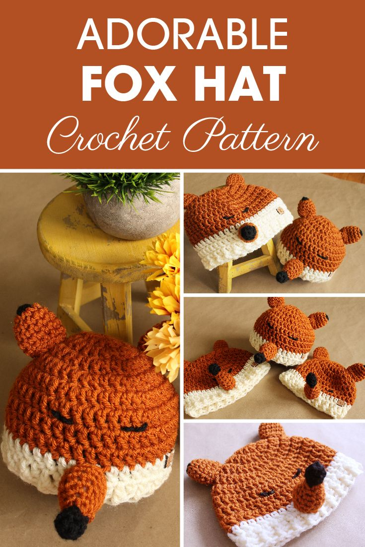 Felicity The Fox Hat Crochet Pattern Can Be A Fun And Cute Project