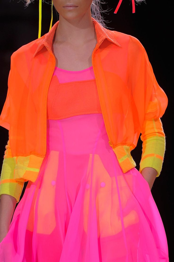 Pink And Orange March 8 2015