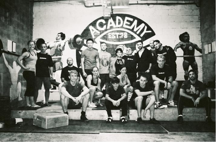 Group photo from the first @varbanovschool of weightlifting seminar Sept 2012