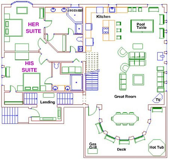 Ranch floor plans with 2 master suites for House plans with 2 master suites on main floor