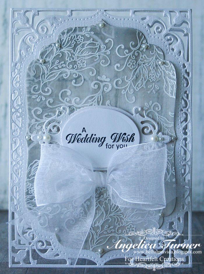 A Wedding Wish {Heartfelt Creations} - Scrapbook.com